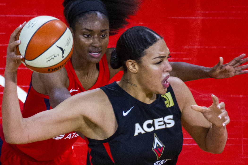 Las Vegas Aces center Liz Cambage earns All-WNBA honors ...