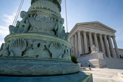 A June 17, 2019 file photo, shows the Supreme Court in Washington. Abortion rights, and protect ...