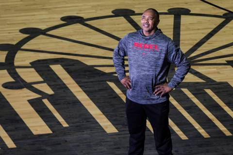 "Robert Smith, point guard for UNLV's 1977 NCCA Final Four team known as the ""Hardway Eight ..."