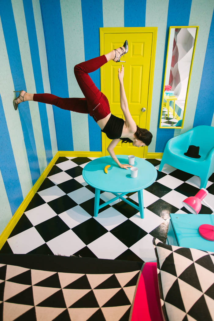 The interactive Museum of Selfies, opening Oct. 25 at the Miracle Mile Shops at Planet Hollywoo ...