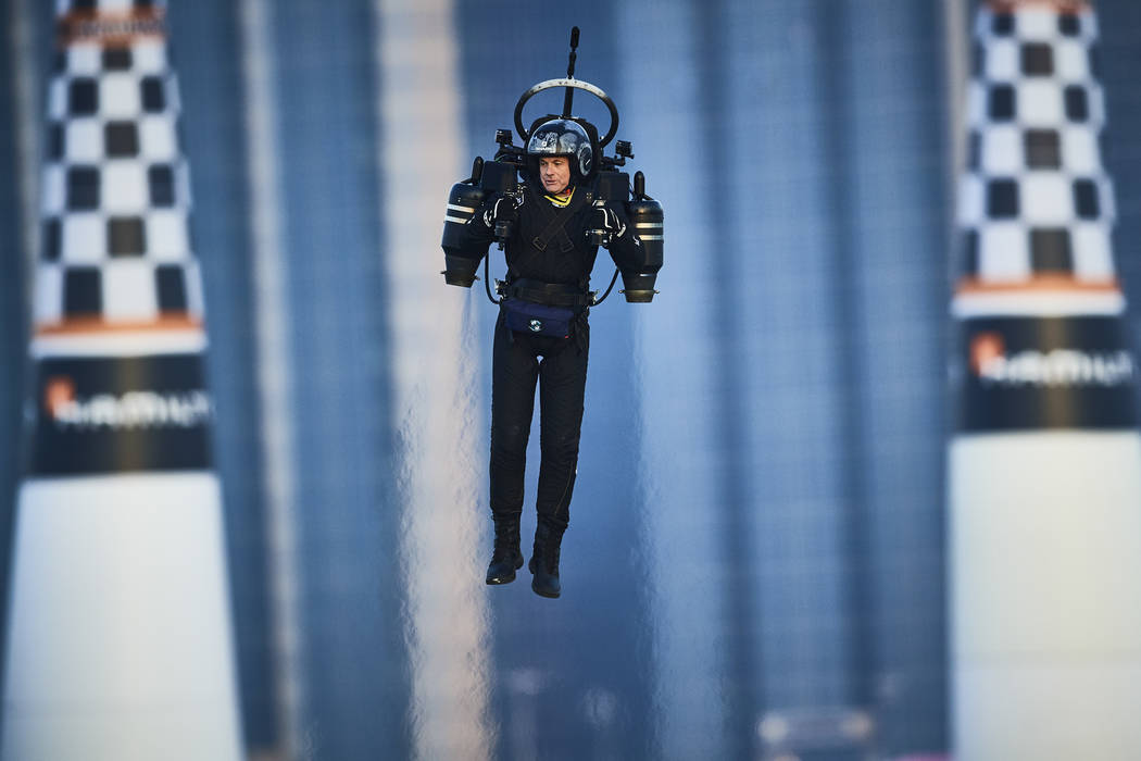 The world's only turbine powered JB10 Jetpack from Jetpack Aviation will be on hand at Big Bo ...