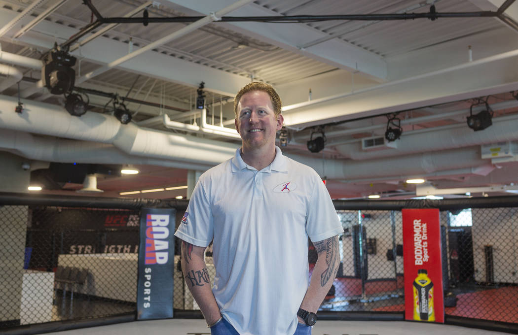 Former SEAL Team Six leader, Rob O'Neill at the UFC Performance Institute in Las Vegas on Monda ...