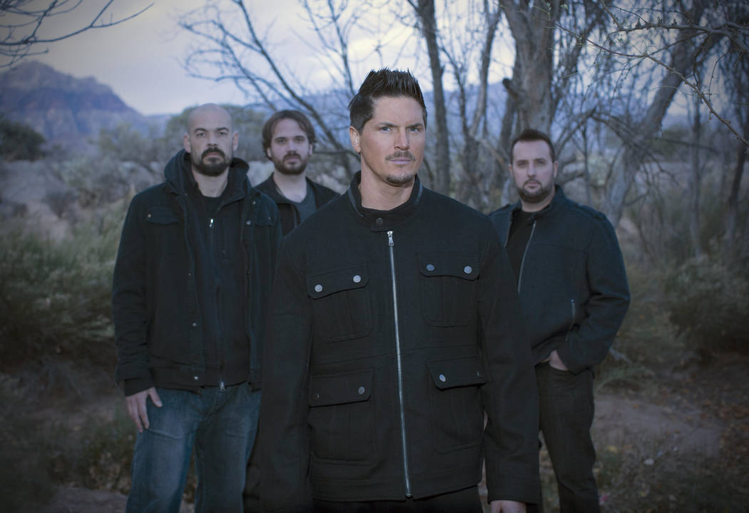 "The ""Ghost Adventures"" team - left to right: Aaron Goodwin, Jay Wasley, Zak Bagans, Billy Tolle ..."
