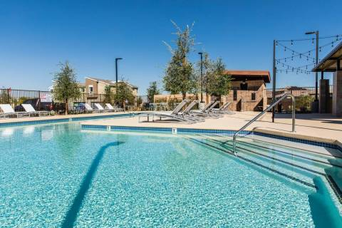 Pardee Homes recently added a resident-exclusive swimming pool to the Evolve collection of upsc ...