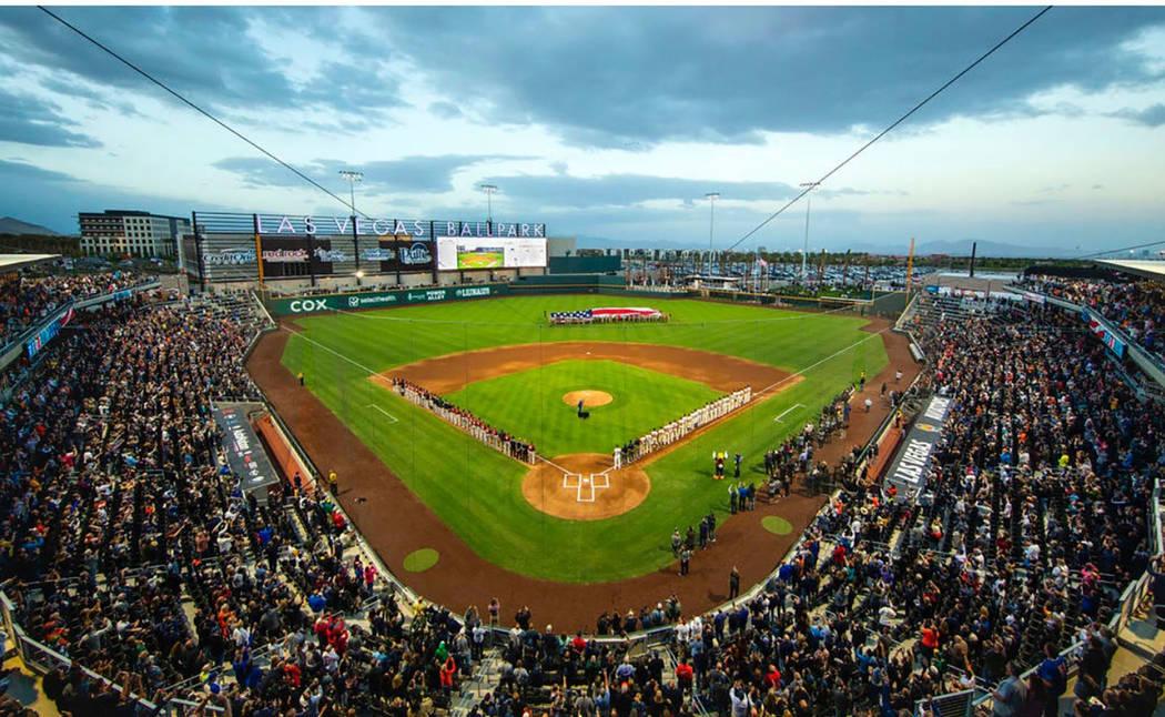 The new Las Vegas Ballpark and the Las Vegas Aviators enjoyed record-setting seasons. (Summerlin)