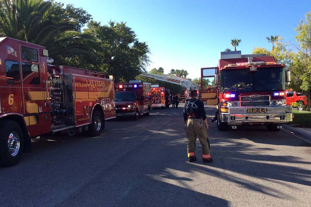 "Two adults and a child are in ""very critical"" condition after a fire inside a two ..."