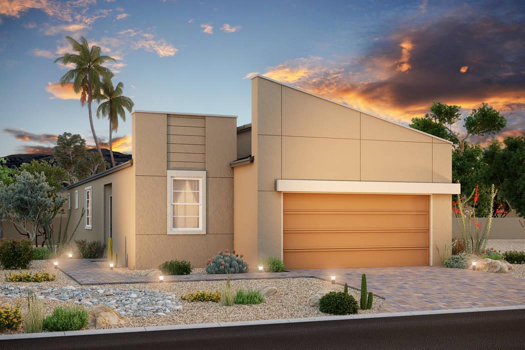 Cielo Vista by Beazer Homes will open Oct. 19 in North Las Vegas. (Beazer Homes)