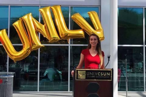 HannahPatenaude, UNLV student body president (Twitter)