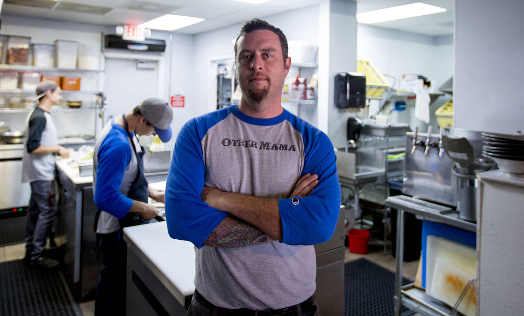 Daniel Krohmer, chef/owner of Other Mama (Las Vegas Review-Journal)