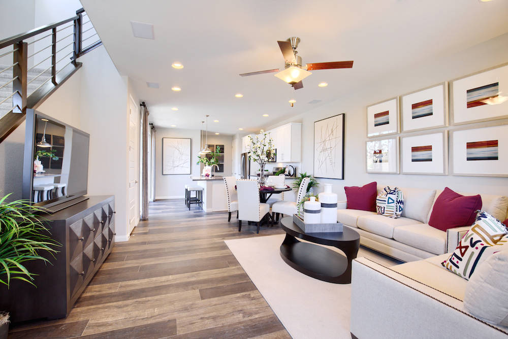 Duetto by Richmond American Homes in Cadence in Henderson has announced a second phase. (Richmo ...