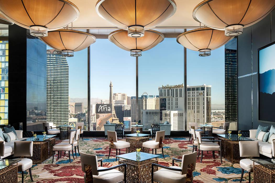 Tea Lounge at Waldorf Astoria Las Vegas