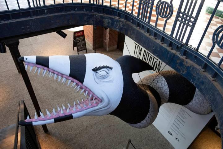 """Tim Burton @ the Neon Museum"" will be an exhibition of Burton's original artwork beginning in ..."