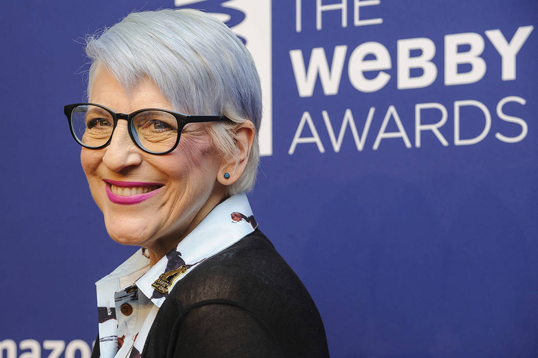 FILE - In this May 13, 2019 file photo, Lisa Lampanelli attends the 23rd annual Webby Awards at ...