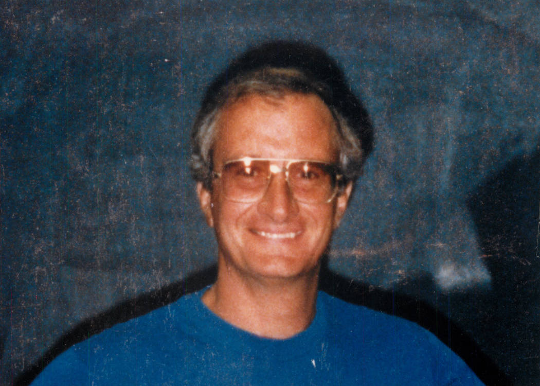 FBI Agent John Bailey in 1990. (Las Vegas Review-Journal File Photo)