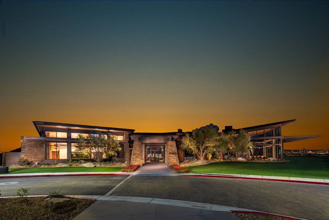 The Reverence recreation center has a state-of-the-art fitness center, outdoor resort and lap p ...