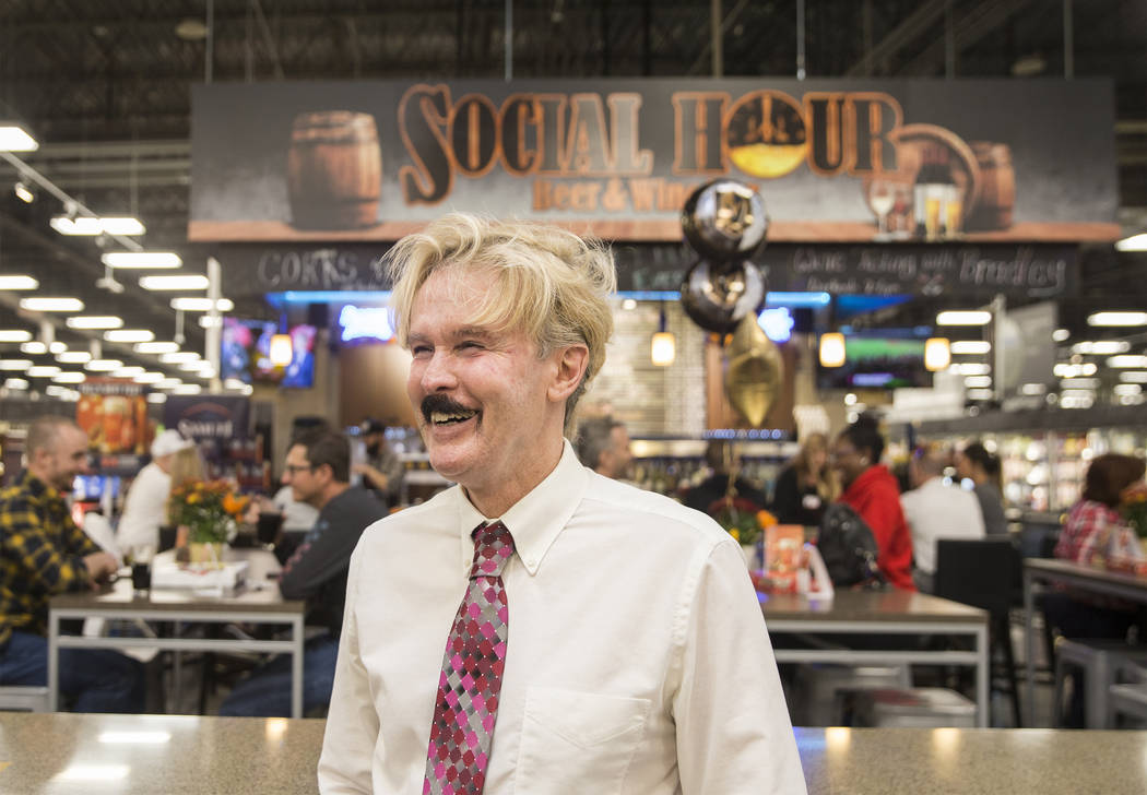 Wine steward Bradley Pugh at Social Hour Beer and Wine Bar on Thursday, Oct. 10, 2019, at Smith ...