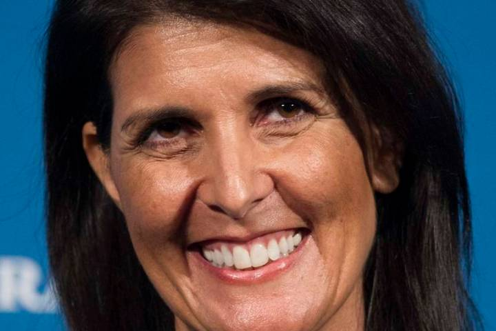 Former South Carolina Gov. Nikki Haley. AP Photo/Cliff Owen, File