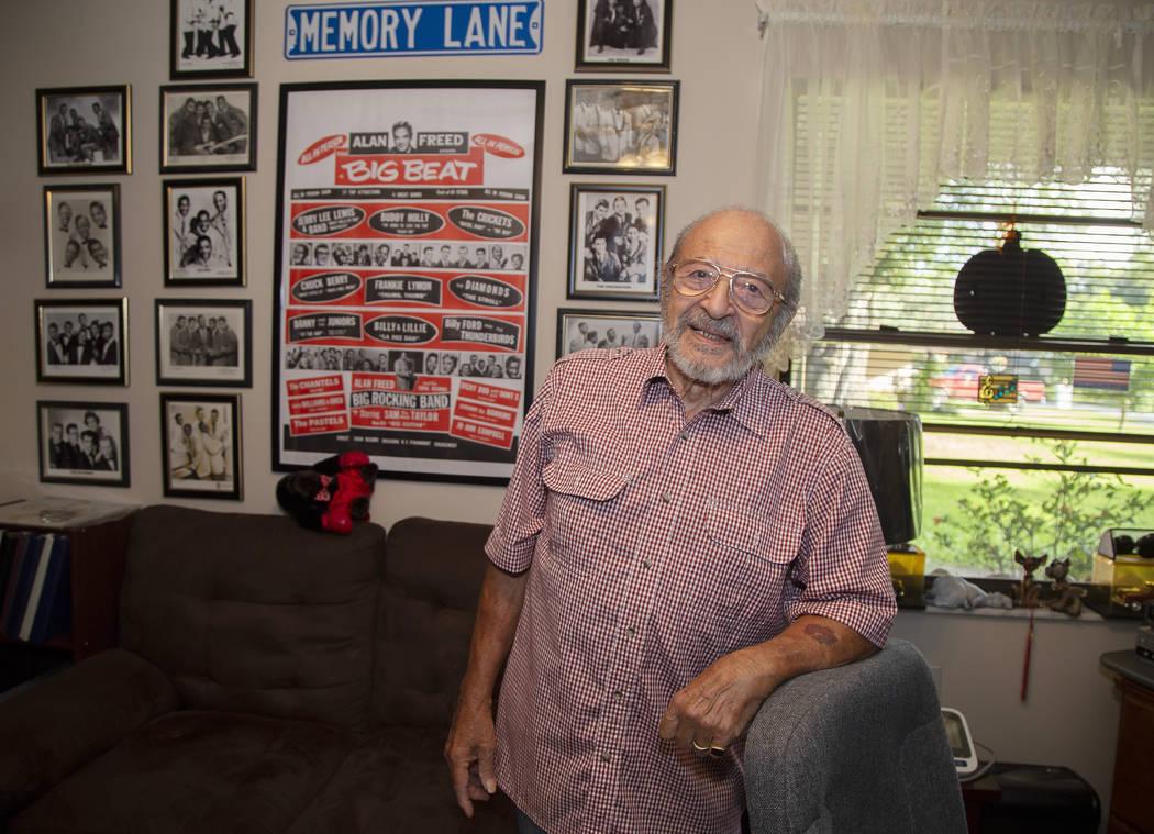 In this Oct. 9, 2019, photo, Joe Schiavone, 81, is seen in his home in West Melbourne, Fla. Sch ...