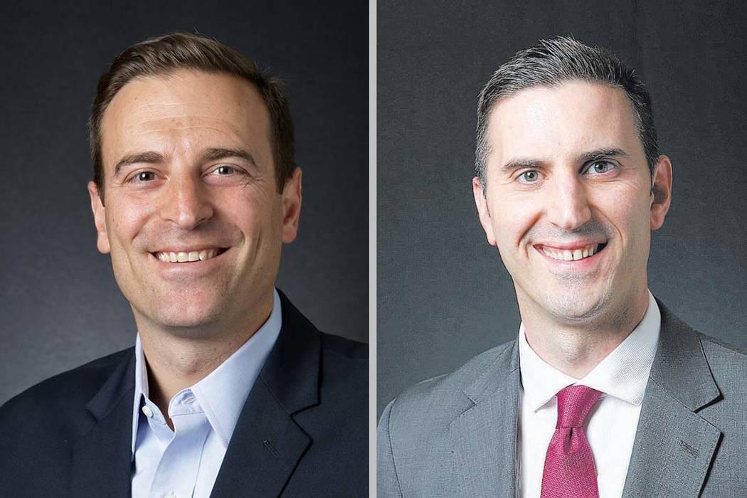 Paul Laxalt, left, and Wes Duncan (Las Vegas Review-Journal)