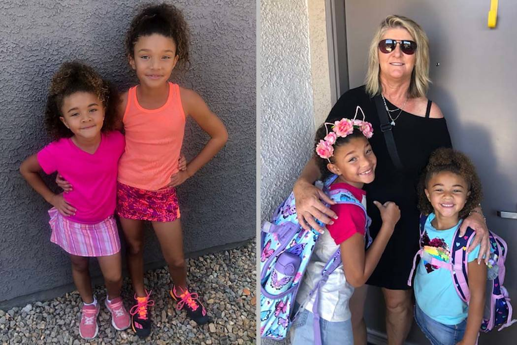 Carmel Mary-Hill and her daughters. Mary-Hill in a federal lawsuit filed Thursday accused Red R ...