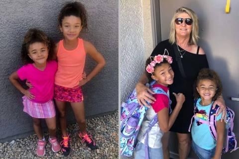 Carmel-Mary Hill and her daughters. Hill in a federal lawsuit filed Thursday accused Red Rock C ...