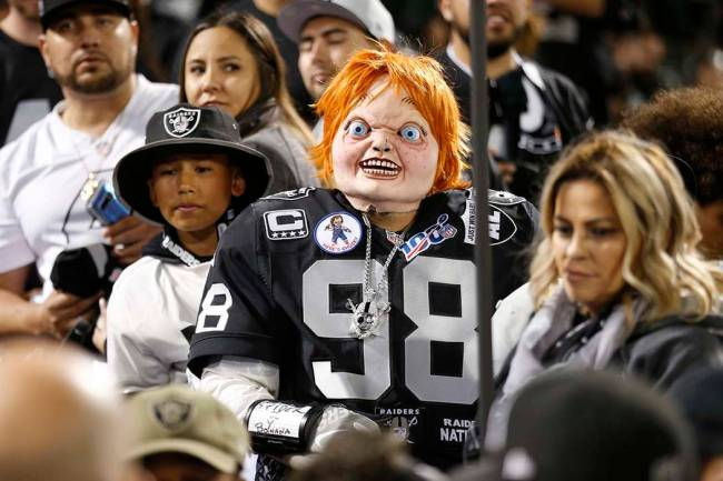 "How fitting that ""Chucky,"" coach Jon Gruden's alter ego borrowed from the murderous doll of the ..."