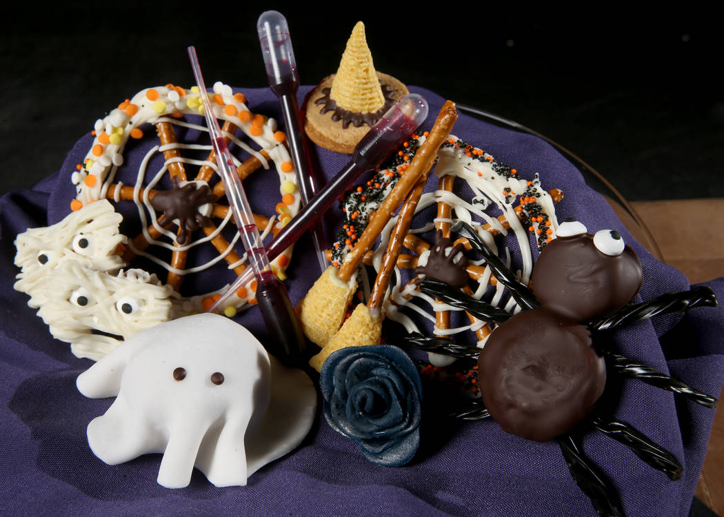 Some easy, do-it-yourself Halloween treats by pastry chef Sara Steele at Chica at The Venetian.