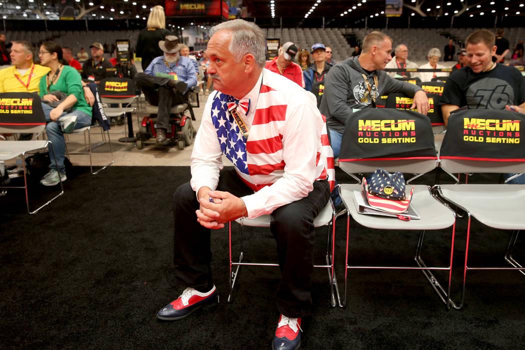 Greg Prante Sr. of St. Louis during Mecum Las Vegas auction at the Las Vegas Convention Center ...