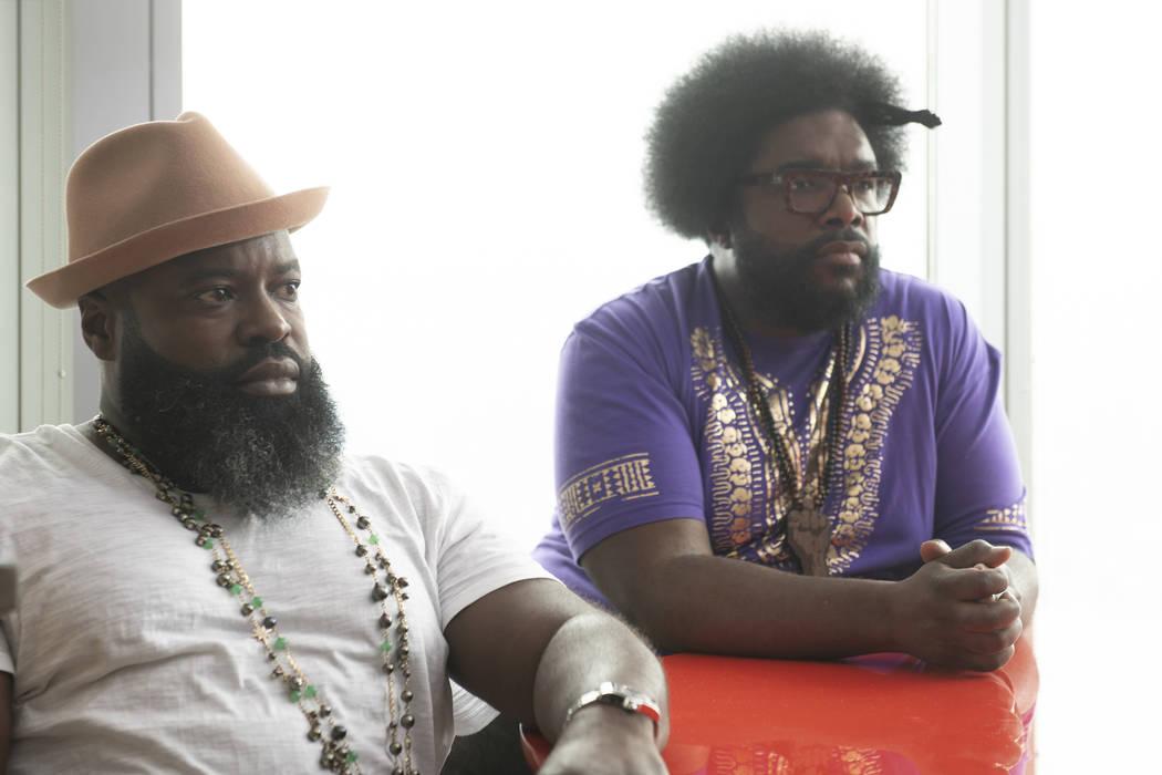 Black Thought, Questlove- Untitled Hip Hop Project _ Season 1 - Photo Credit: Anna Kooris/AMC