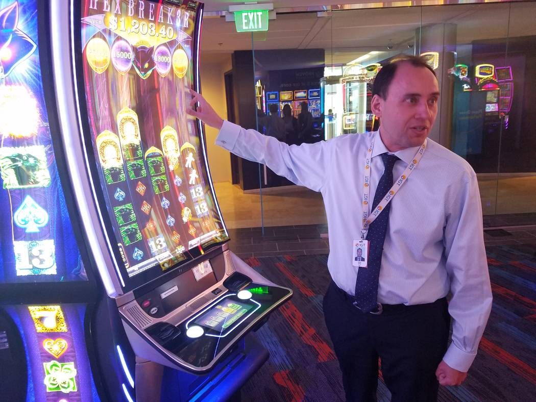 Hexbreaker is one of IGT's legacy games. Nick Khin, chief commercial officer of gaming for IGT, ...