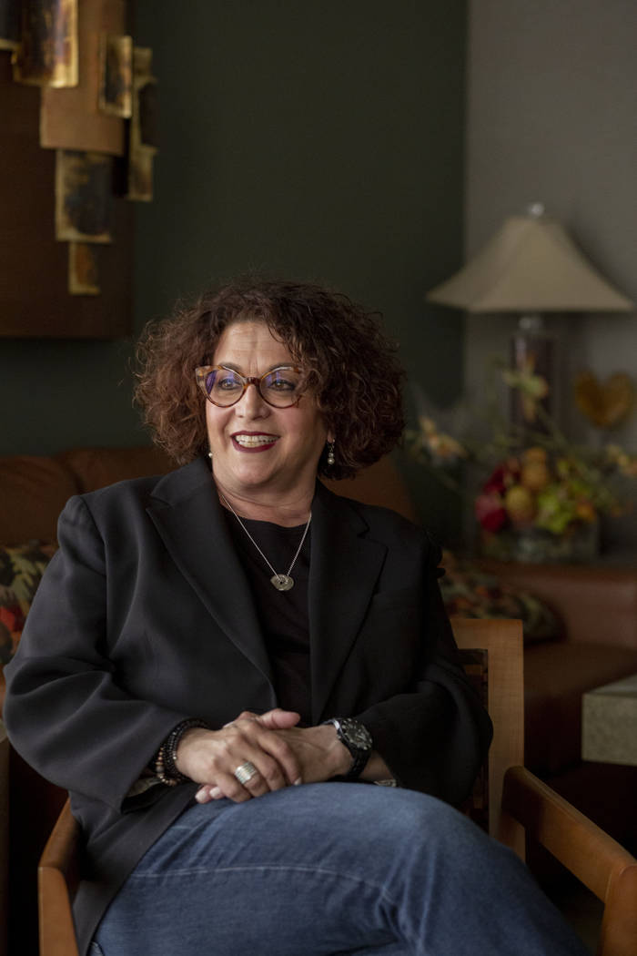 Producer Debbie Isaacs, founder of Unshakeable, a nonprofit that works with women in recovery f ...
