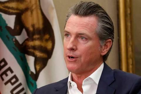 California Gov. Gavin Newsom (AP Photo/Rich Pedroncelli/File)