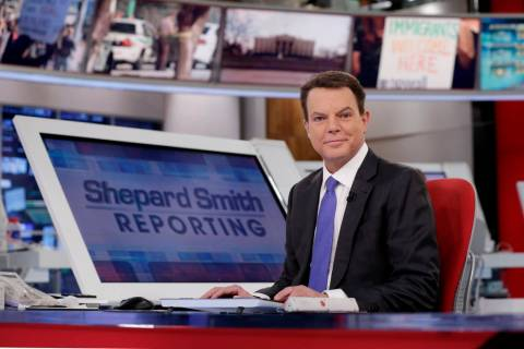 In this Jan. 30, 2017, file photo, Fox News Channel chief news anchor Shepard Smith appears on ...