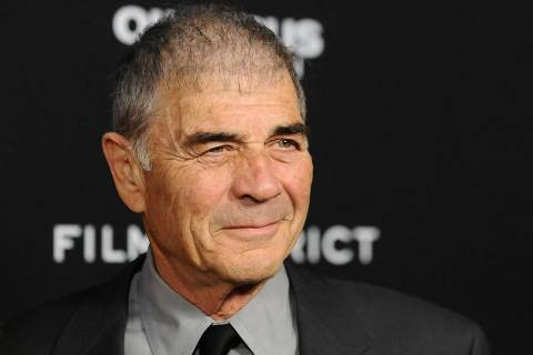 "In this Monday, March 18, 2013 file photo, Robert Forster arrives at the LA premiere of ""Olympu ..."