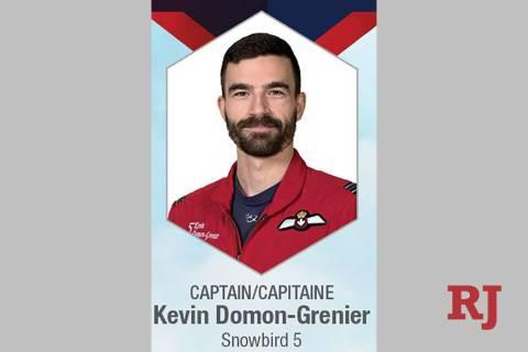 Capt. Kevin Domon-Grenier (CF Snowbird Twitter)
