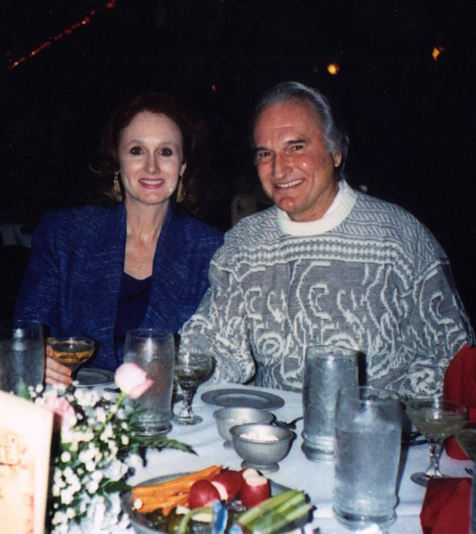 Margaret and Ron Rudin are pictured in an undated family photo. (Las Vegas Review-Journal file)