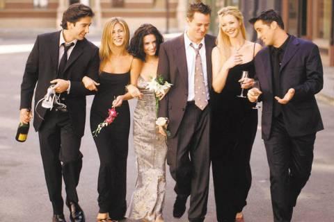 David Schwimmer, Jennifer Aniston, Courteney Cox Arquette, Matthew Perry, Lisa Kudrow and Matt ...