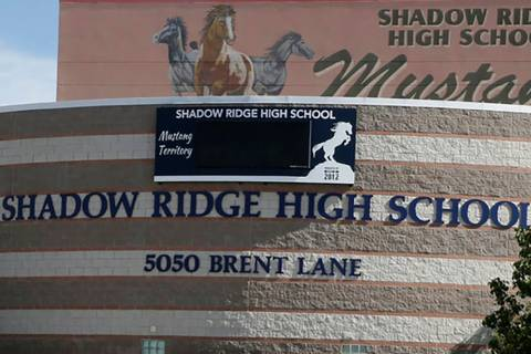 Shadow Ridge High School in Las Vegas (Las Vegas Review-Journal)