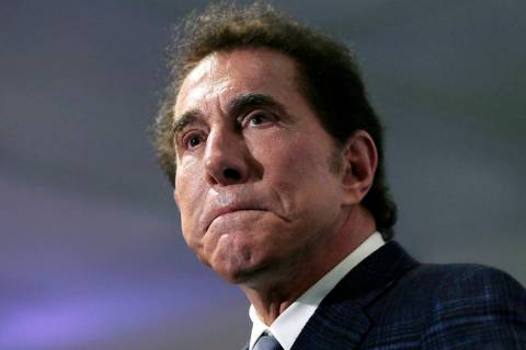 This March 15, 2016, file photo, shows Steve Wynn at a news conference in Medford, Mass. (AP Ph ...