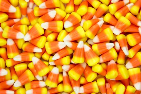 Candy corn, Nevada's favorite Halloween candy. (Getty Images)