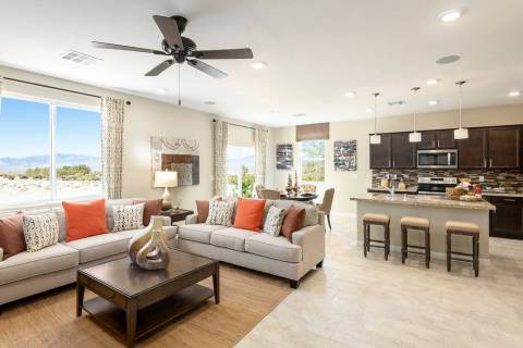 Burson Ranch Enclave by Beazer Homes offers a variety of floor plans. (Mark Skalny Beazer Homes)