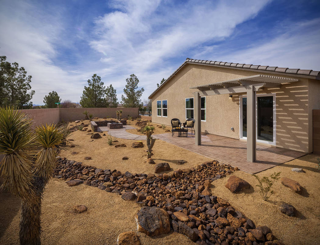 Burson Ranch by Beazer Homes is in the new master-planned community, Burson, in Pahrump. (Mark ...