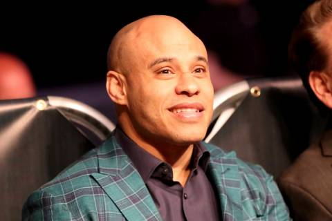 MMA Manager Ali Abdelaziz is seen at a regular season mixed martial arts bout at PFL 1, Thursda ...