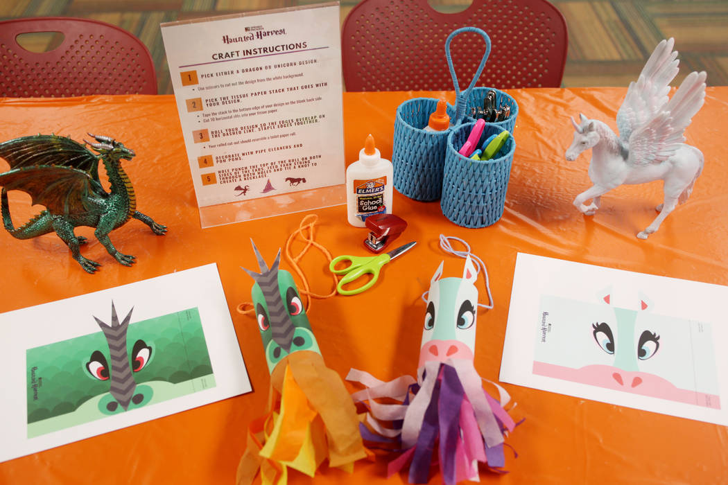 A craft able explaining different craft options ready for the second weekend of the family frie ...