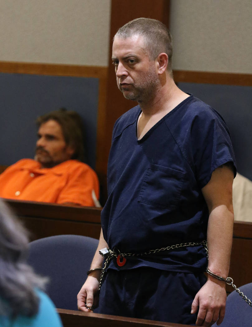 Christopher Prestipino, right, charged with murder in the death of a woman whose body was found ...