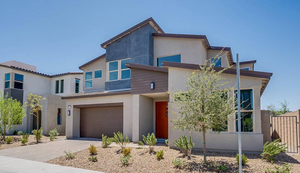 On oversized homesite No.12, Pardee's SmartBuy Corterra Plan One is ready for indoor/outdoor ...