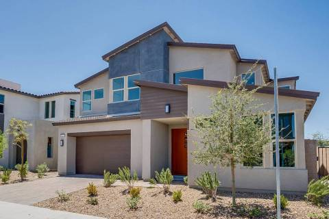 On oversized homesite No.12, Pardee's SmartBuy Corterra Plan One is ready for indoor/outdoor ...