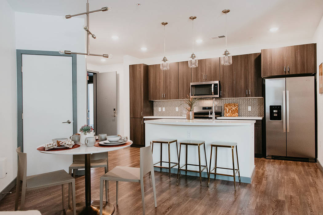 Models are now open at Tanager, the newest luxury apartment community in Downtown Summerlin. (S ...