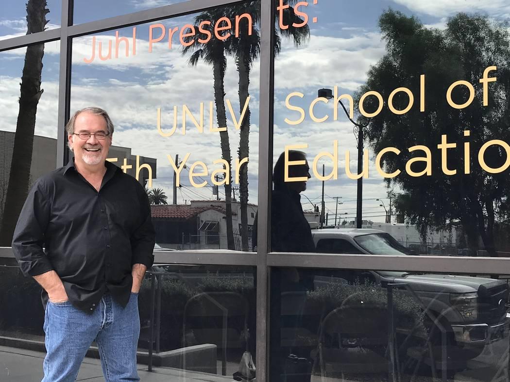 Juhl in Downtown Las Vegas is partnering with Eric Strain, associate professor, UNLV School of ...
