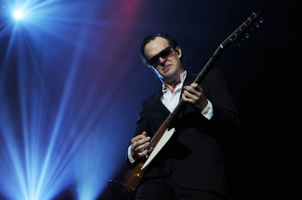 Joe Bonamassa performs during the Always on the Road Tour at the Seminole Hard Rock Hotel and C ...